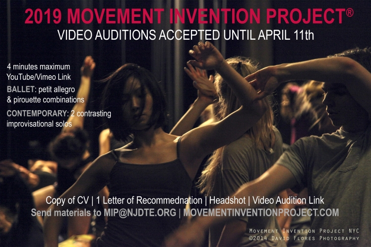 2019 Video Audition Flyer MIP®